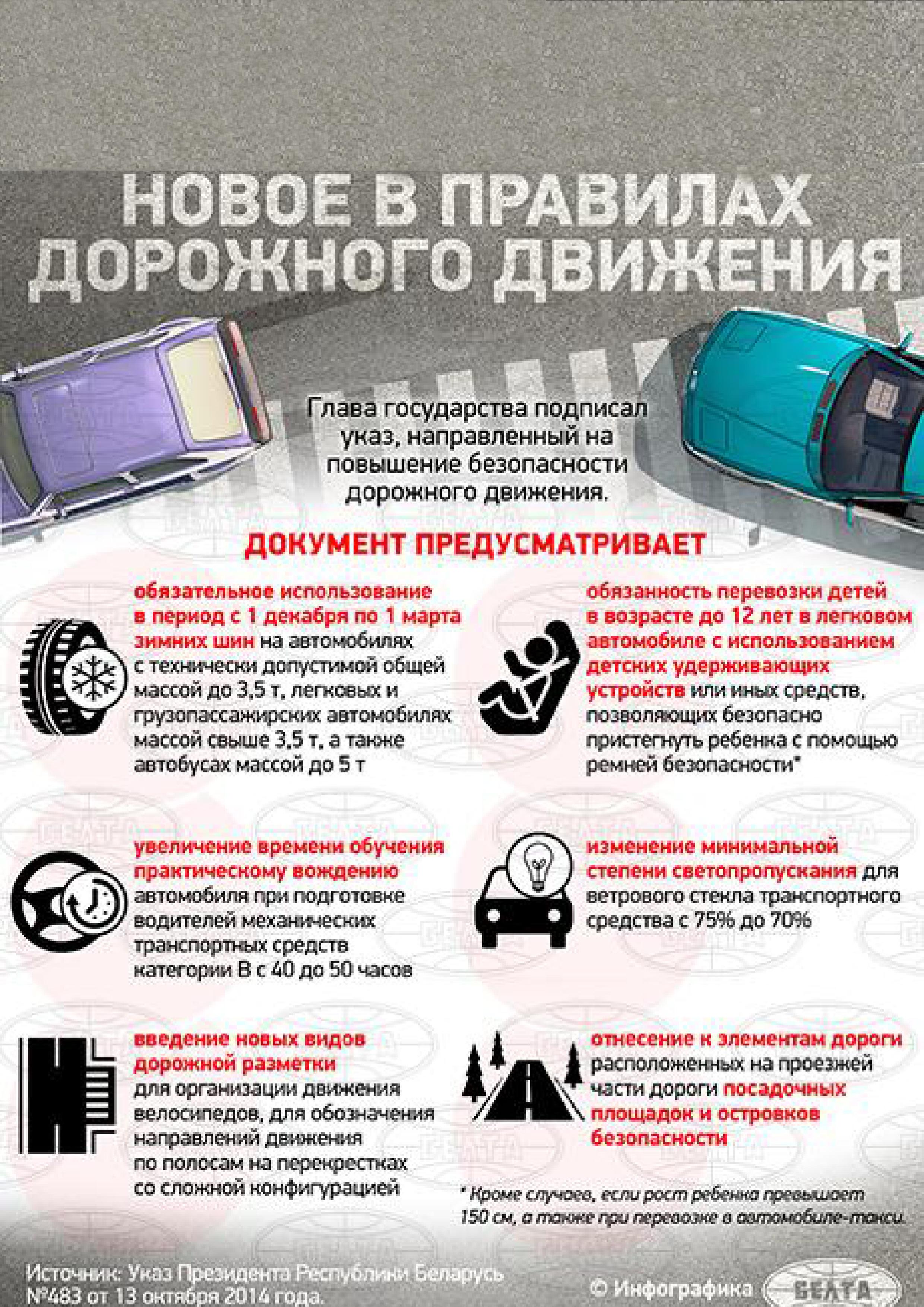 Пдд 2018 новые правила дорожного движения